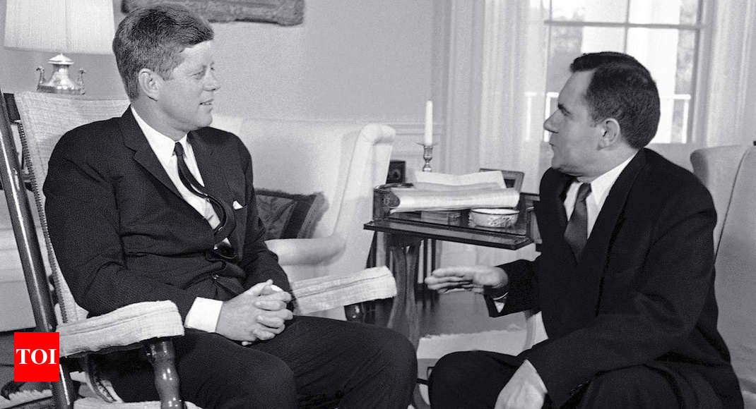 JFK's rocking chair, other iconic memorabilia up for grabs