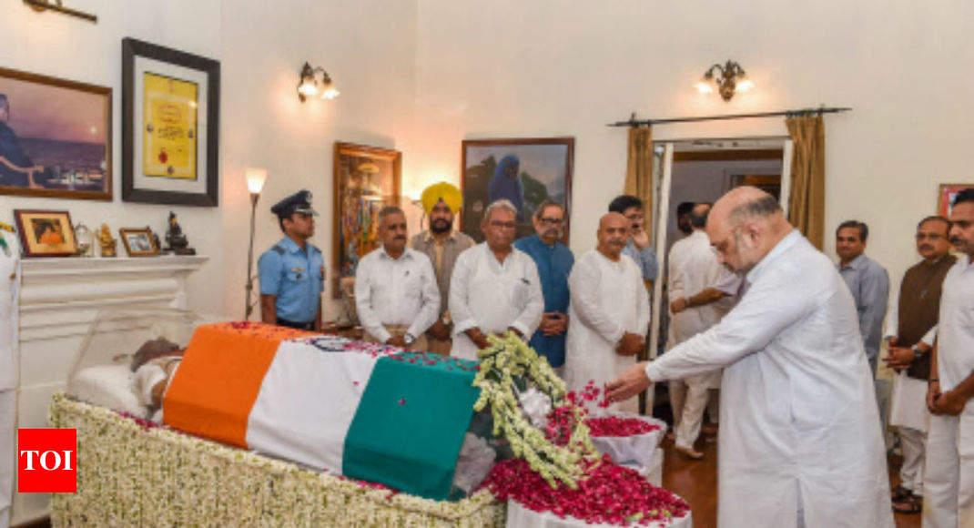 The pole star of Indian politics no more: Amit Shah