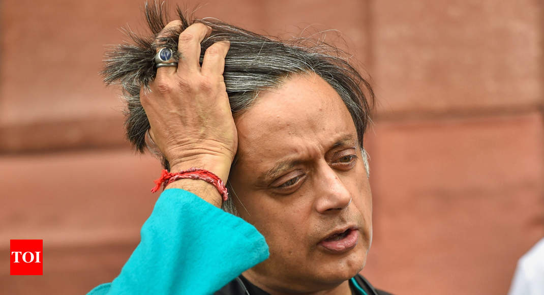 Delhi HC asks police to file status report on plea against Shashi Tharoor's anticipatory bail