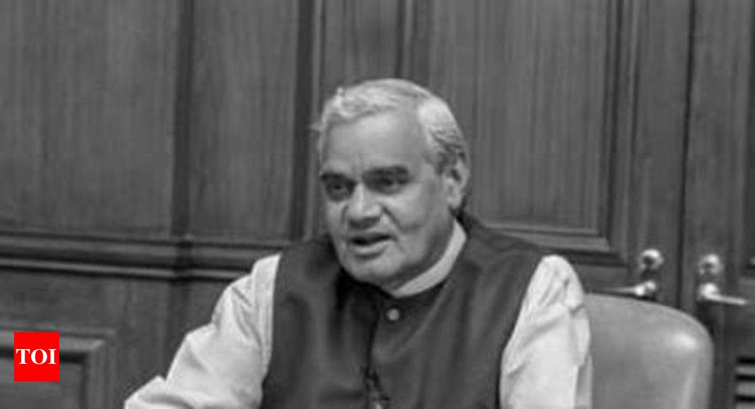 Former PM Atal Bihari Vajpayee's ashes to be immersed in rivers in Goa on August 24