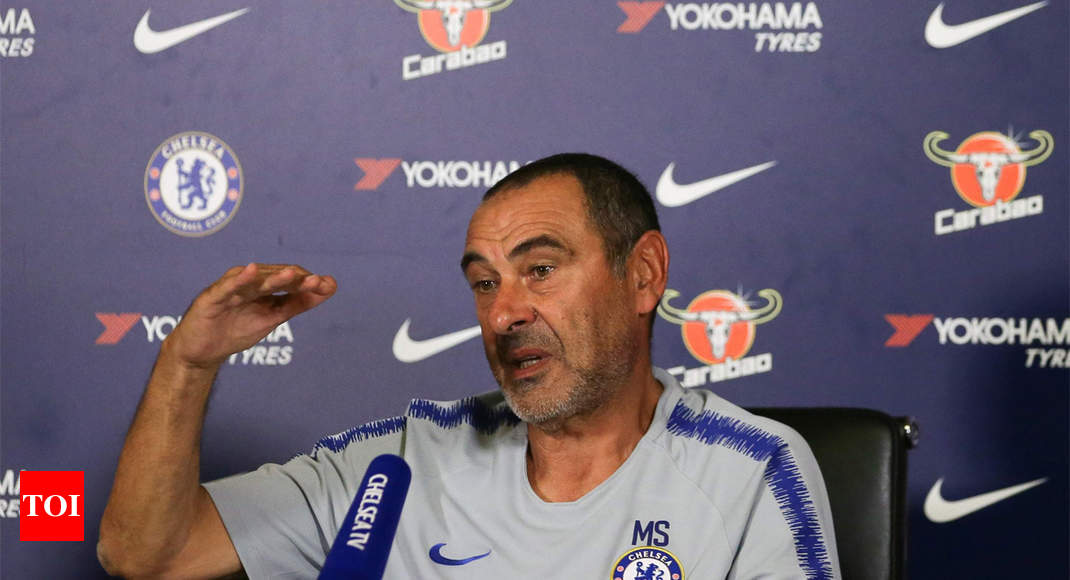 New manager Sarri sets his hopes high at Chelsea
