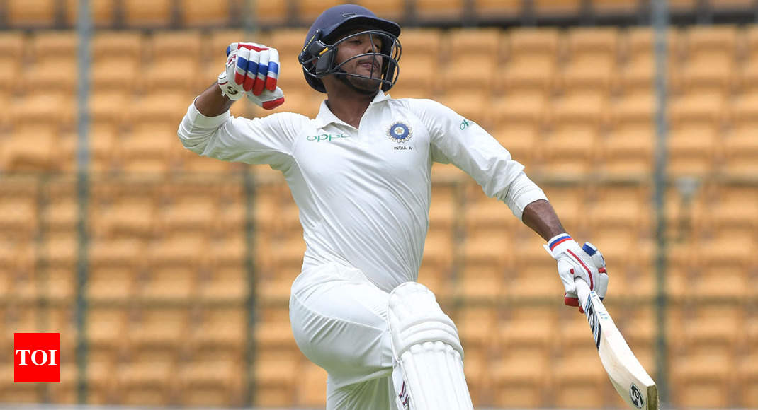 Mayank Agarwal, Prithvi Shaw hammer South Africa A on Day 2