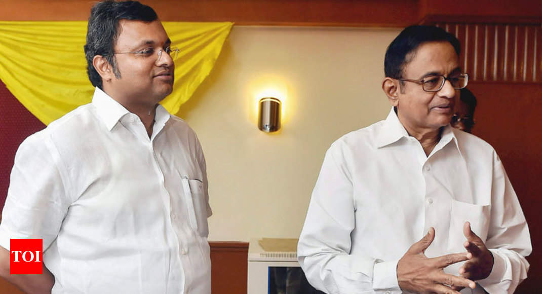 Court extends interim protection from arrest to Chidambaram, son in Airce-Maxis cases