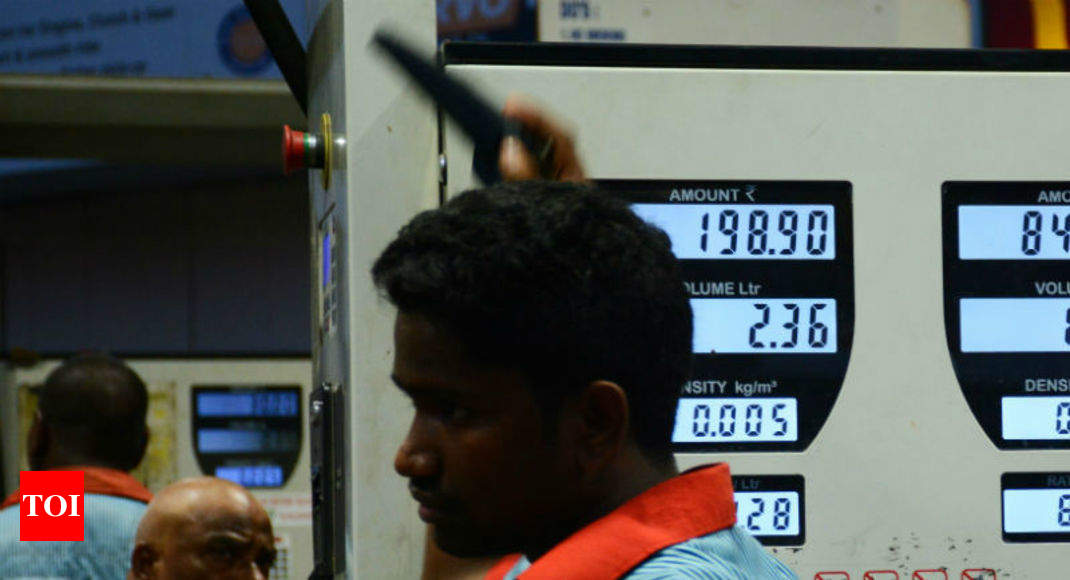 Petrol crosses Rs 77 a litre mark after two months; diesel at Rs 68.50