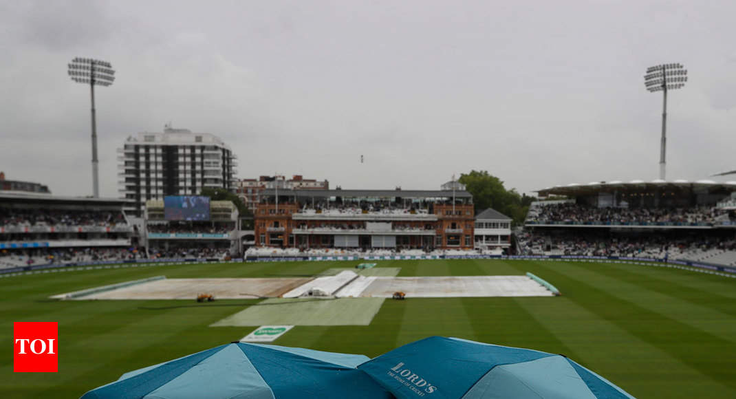 India vs England, 2nd Test: Rain washes out morning session at Lord's