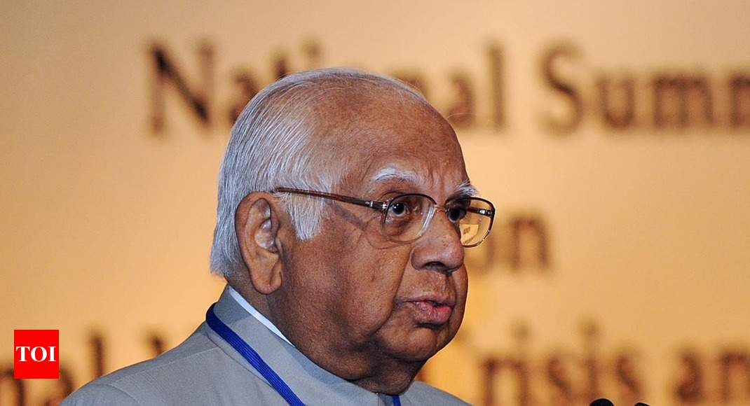 Somnath Chatterjee suffers 'mild heart attack', responding to treatment: Hospital