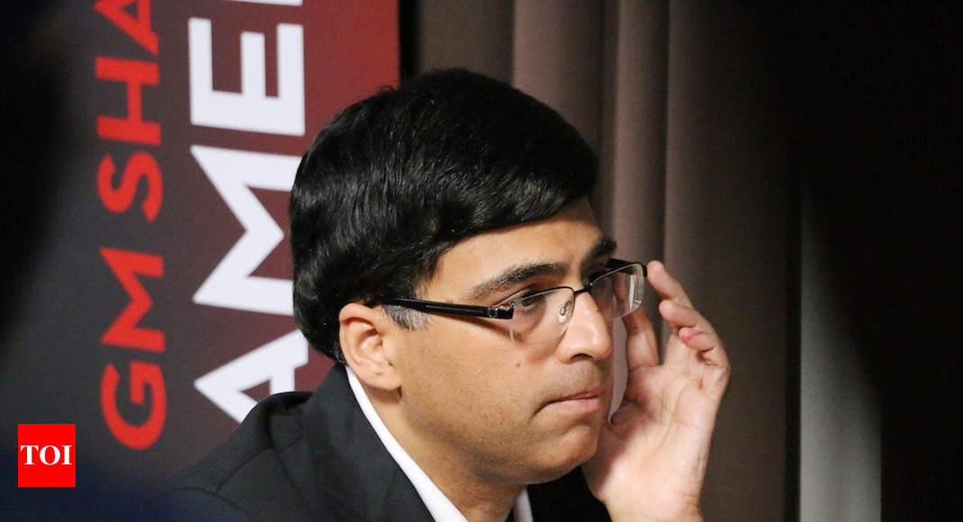 Anand tied fourth after first day of St. Louis rapid chess