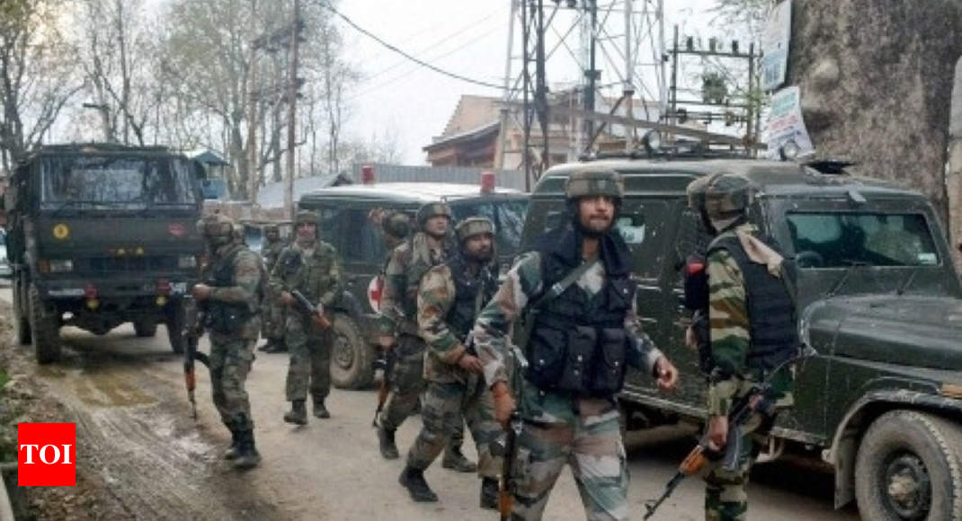 Two overground workers of terrorists arrested in J&K