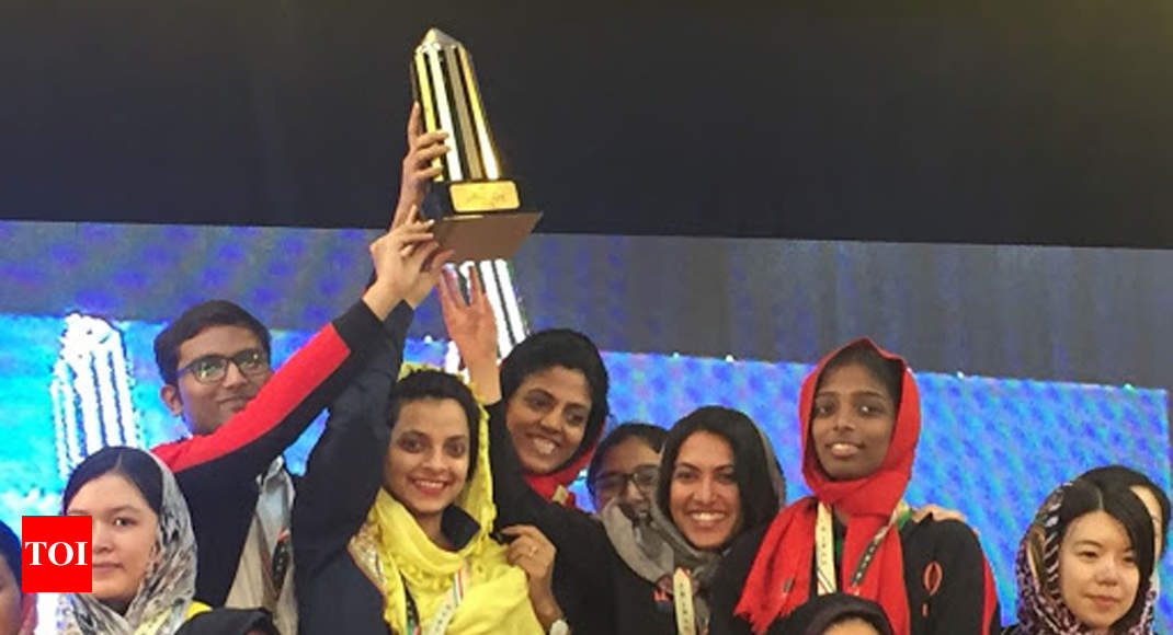 India women win blitz gold in Asian Nations Cup chess tourney