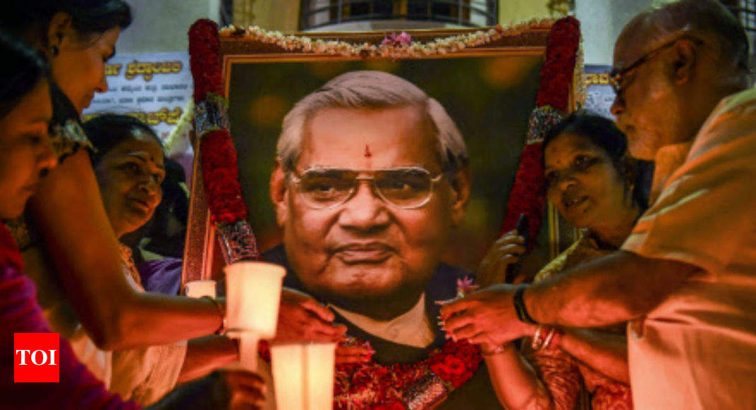BJP postpones its programme of bringing in Vajpayee's ashes to Lucknow