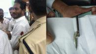 Attack on Jagan reddy