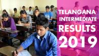 TELANGANA INTERMEDIATE RESULTS 2019