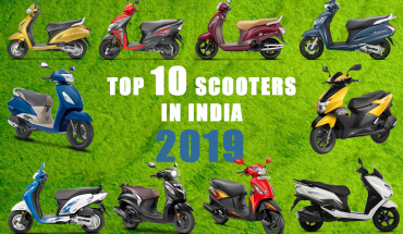 Top-10-Scooty(Scooters) below 50000INR