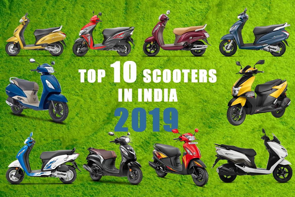 Top-10-Scooters below 50,000INR