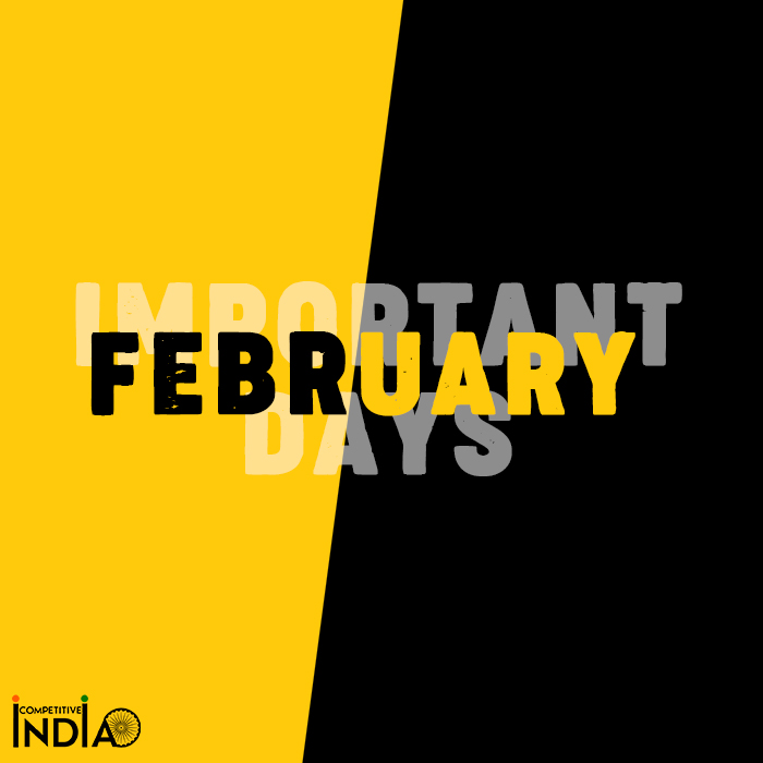 Important Days in February