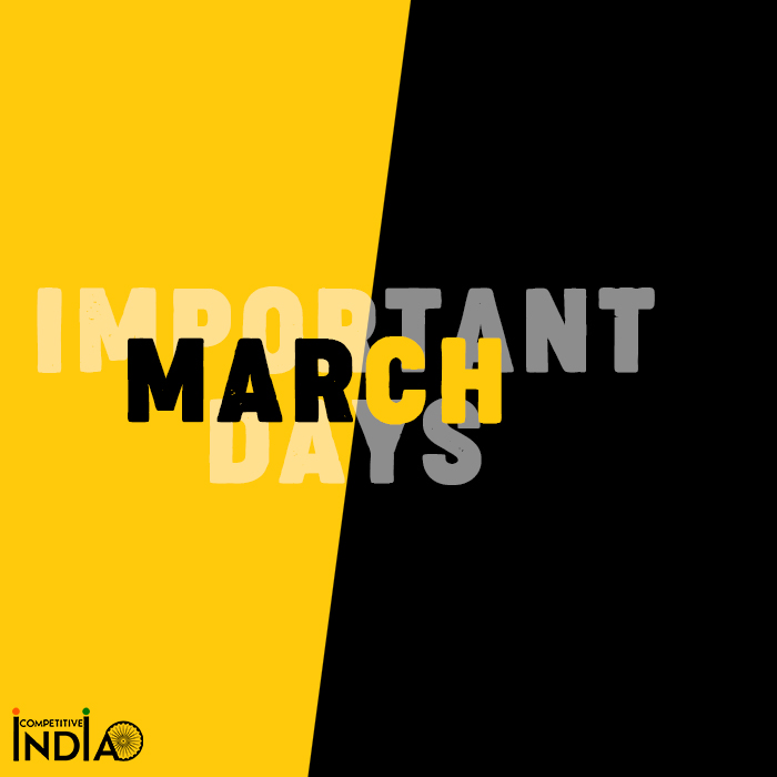 Important Days in March