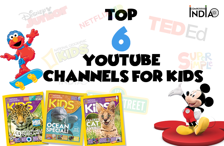 Top 6 Youtube channels for kids