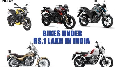 Bikes under Rs.1 Lakh in India