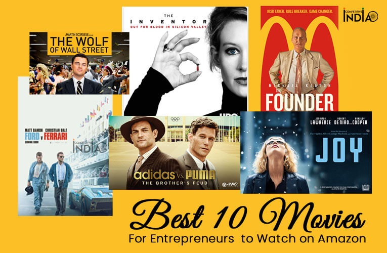 Best 10 Movies For Entrepreneurs to Watch on Amazon
